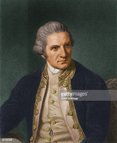 English explorer and mariner James Cook
