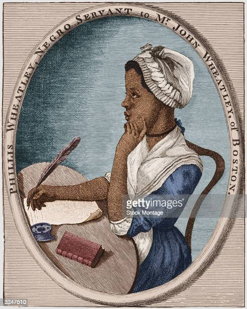 American poet Phillis Wheatley who was bought as a slave by Mr John Wheatley of Boston She quickly became an accomplished reader and in 1773...