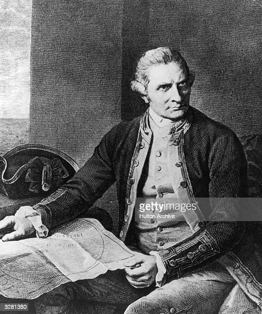 English explorer and Fellow of the Royal Society Captain James Cook