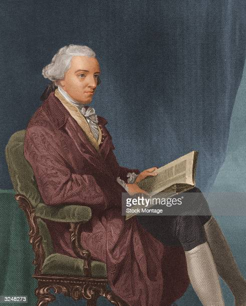 American revolutionary politician John Hancock who was the first person to sign the Declaration of Independence