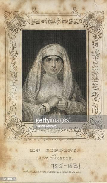 English actress Sarah Siddons as Lady Macbeth