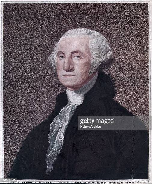 George Washington the 1st President of the United States of America Original Publication From the engraving by W Nutter after CG Stuart