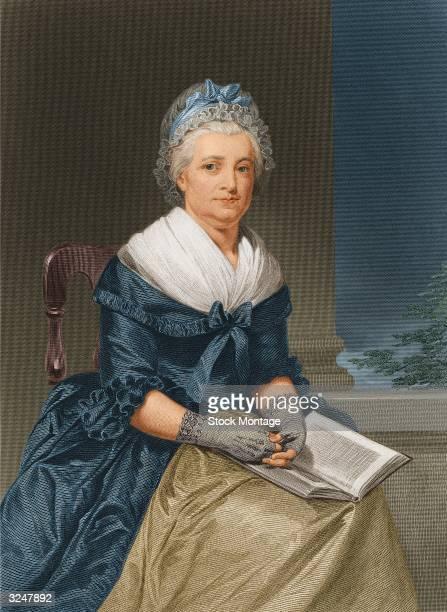 Martha Washington wife of US president George Washington