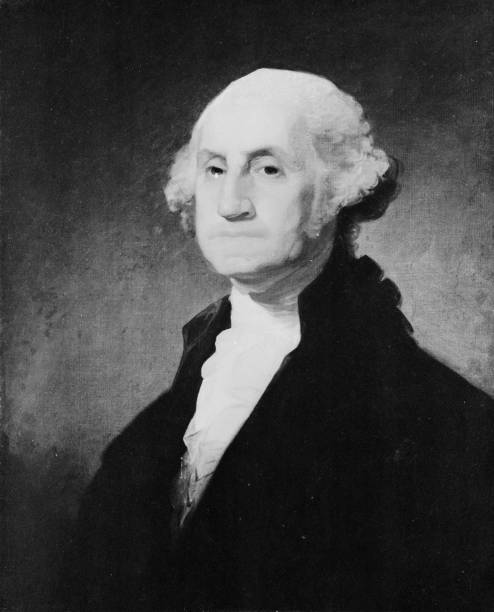 The 1st President of the United States George Washington...