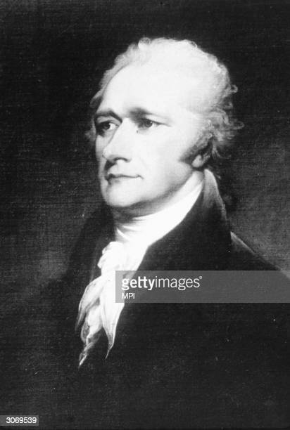 American politician Alexander Hamilton after service as aide de camp to George washington during the War of Independence he wrote the majority of the...