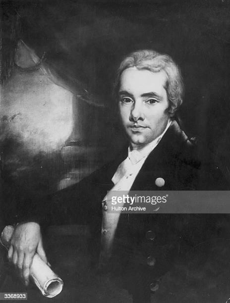 English philanthropist William Wilberforce , abolitionist of the slave trade.