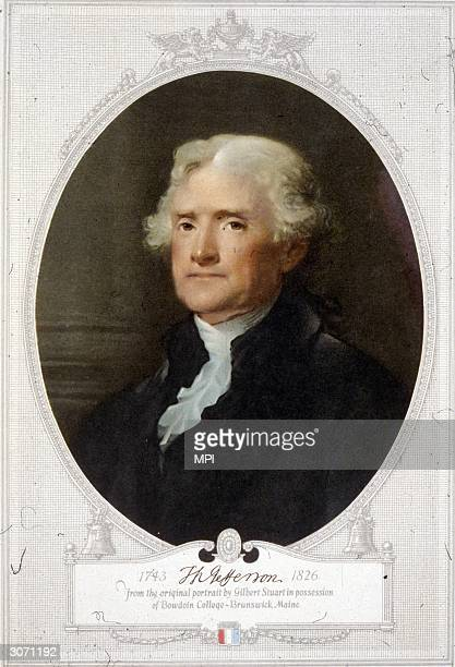 Thomas Jefferson the principal author of the Declaration of Independence he became the third President of the United States Original Publication From...
