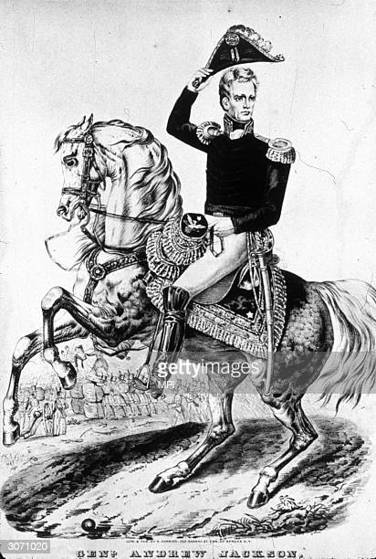 General Andrew Jackson the 7th president of the United States and the first president to come from a humble background He won great renown for his...