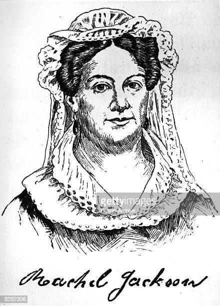 Mrs Rachel Jackson , the wife of Andrew Jackson , 7th President of the United States of America .