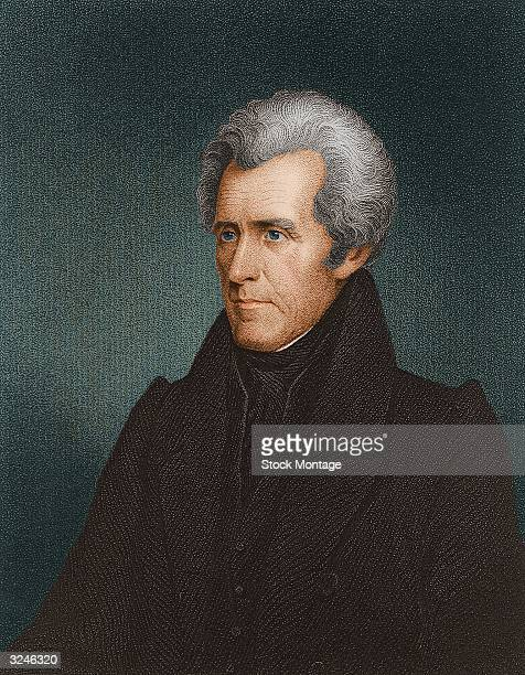 Andrew Jackson , seventh president of the United States of America.