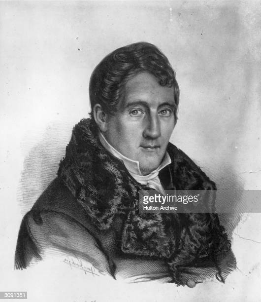 German violinist and composer Louis Spohr , best known for his opera 'Jessonda'.