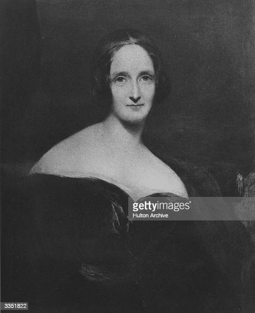 Mary Wollstonecraft Shelley the English novelist and second wife of Percy Bysshe Shelley famous for her novel Frankenstein which was published in 1818