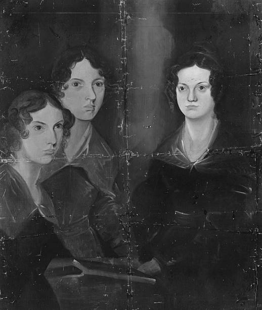 English writers Anne, Emily and Charlotte Bronte. Original...