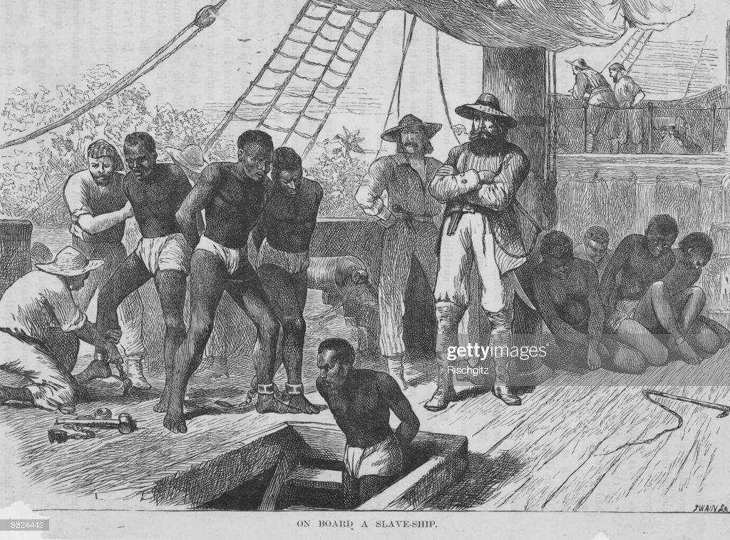 Slaves In Transit : News Photo