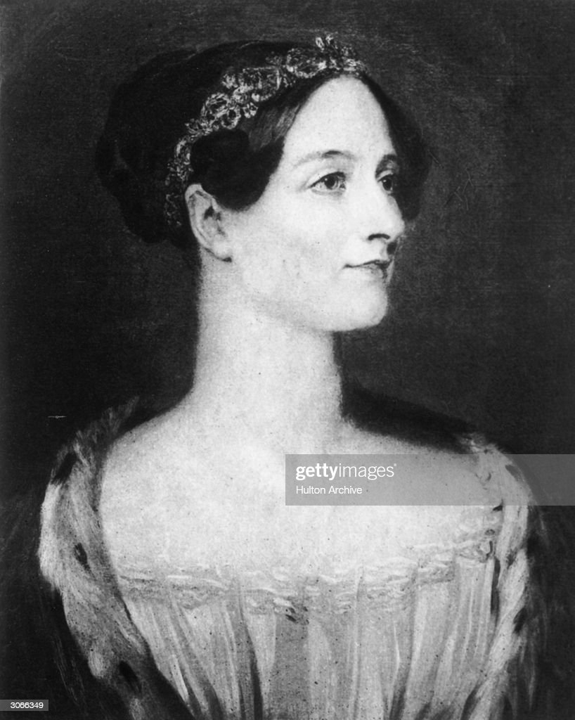 Augusta Ada, Countess Lovelace, (nee Byron) (1815 - 1852) 1st wife of William King the first earl. She was the daughter of poet Lord Byron and the computer language ADA was named after her in recognition of the help she gave computer pioneer Charles Babbage.