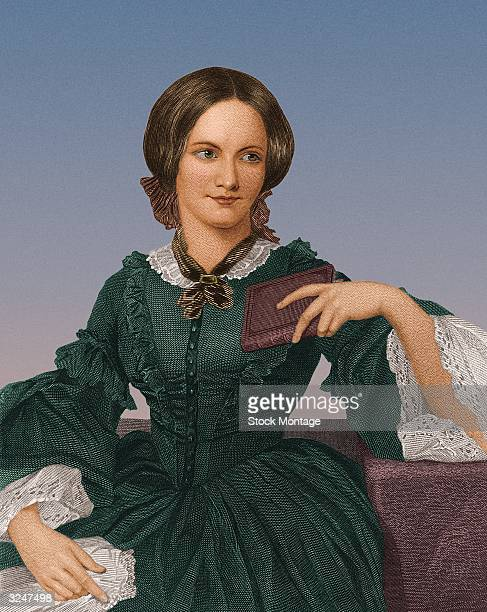 English novelist Charlotte Bronte author of 'Jane Eyre' and sister to Anne and Emily Bronte