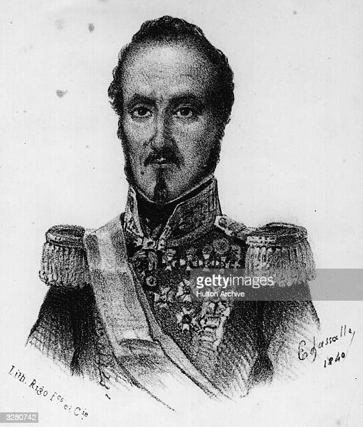 Espartero Duke of Vittoria regent of Spain Original Artwork Lithograph by Edassalio 1840