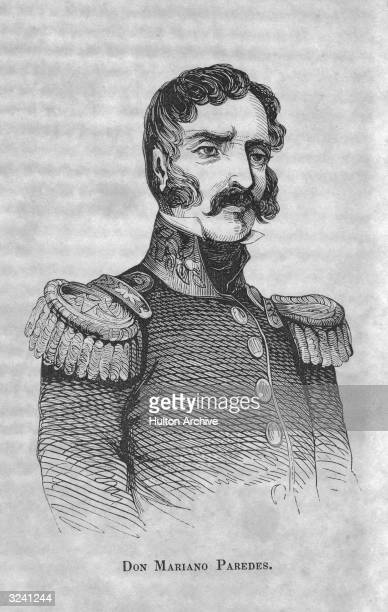 Mariano Paredes y Arrillaga . Mexican soldier, extreme conservative supporter of Santa Anna 1841, later opposed him 1845, president of Mexico January...