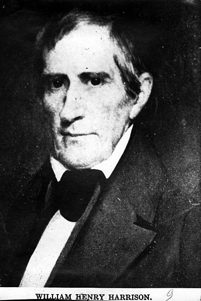 William Henry Harrison , 9th President of the United States of America, to which office he was elected in 1840. He served for only one month before...
