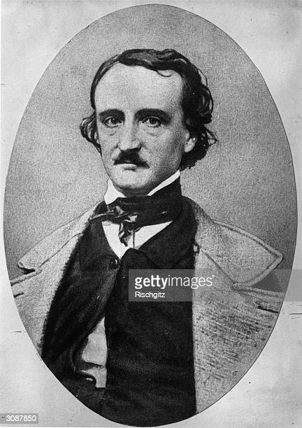 Author and poet Edgar Allan Poe Pioneer of the modern detective story with 'The Murders in the Rue Morgue'