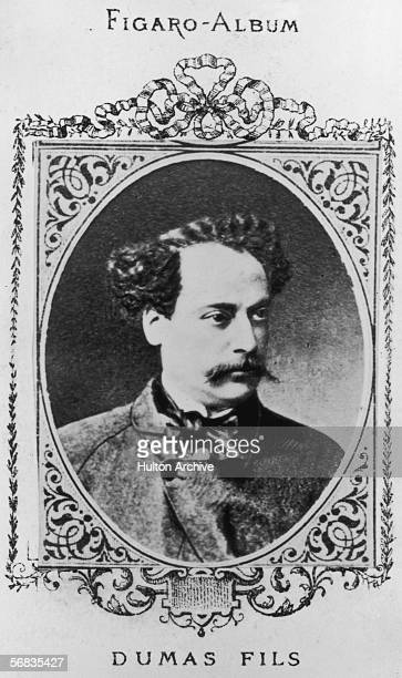 Novelist Alexandre Dumas Fils the illegitimate son of Alexandre Dumas whom he went to live with in 1844