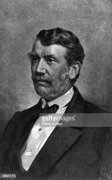 David Livingstone Scottish missionary and explorer Crayon drawing from a photo by Maull Fox