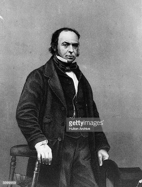 English engineer and inventor Isambard Kingdom Brunel Original Artwork Engraving by D J Pound after a photograph by Mayall
