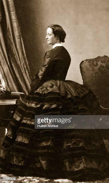 Eugenie , Empress of the French , wife of Napoleon III.
