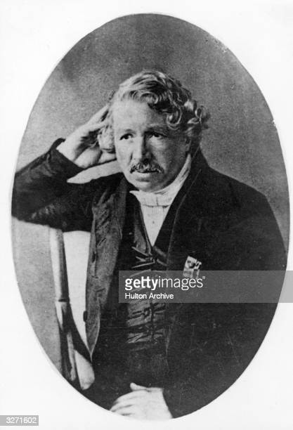 French painter and photographic pioneer Louis Jacques Mande Daguerre He founded the Diorama in Paris in 1822 and helped to develop the process of...