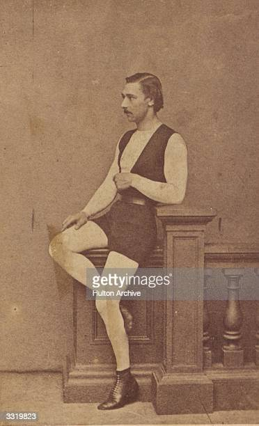 French trapeze artist Jules Leotard