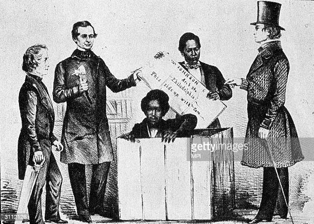 Henry 'Box' Brown arrives in Philadelphia He mailed himself to freedom in a threefoot box from Richmond Virginia to the AntiSlavery office in...