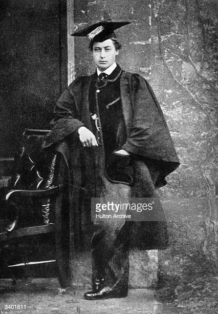 King of Great Britain and Emperor of India Edward VII as an undergraduate at Oxford