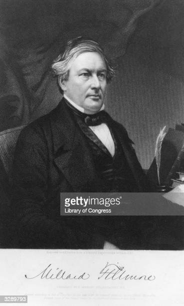 Millard Fillmore the 13th President of the United States of America Fillmore was vicepresident to Zachary Taylor and became President upon his death...