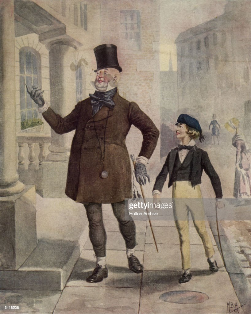 well to do pictures getty images the characters mr micawber and young copperfield in an illustration from the