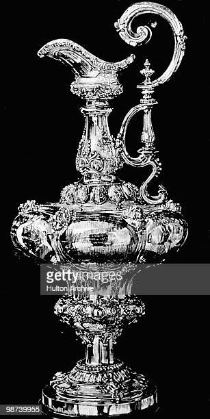 The America's Cup sailing trophy founded in 1851
