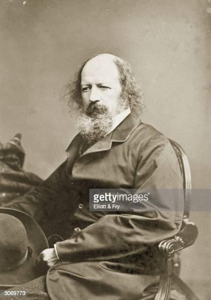 Poet Laureate, Alfred Lord Tennyson .
