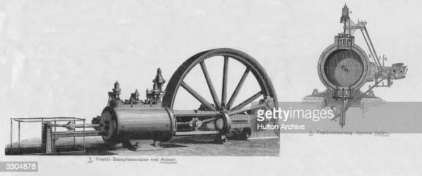 A German steam engine
