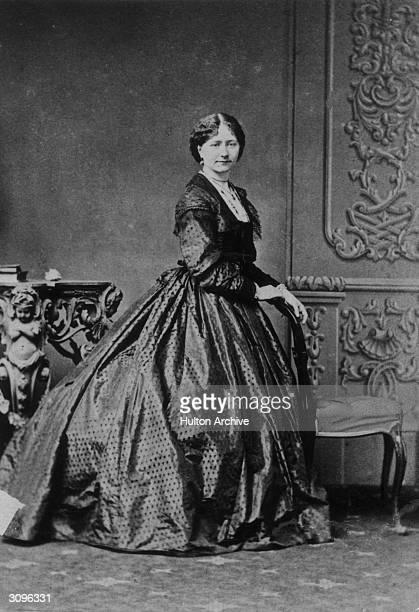 Actress Ellen Ternan reputedly the mistress of Charles Dickens