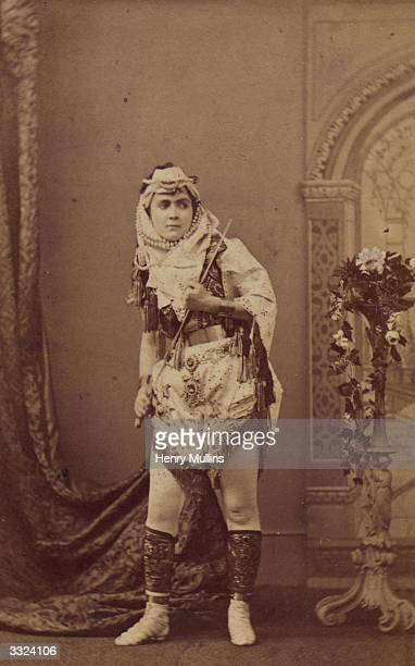American actress and writer Adah Isaacs Menken as Mazeppa.