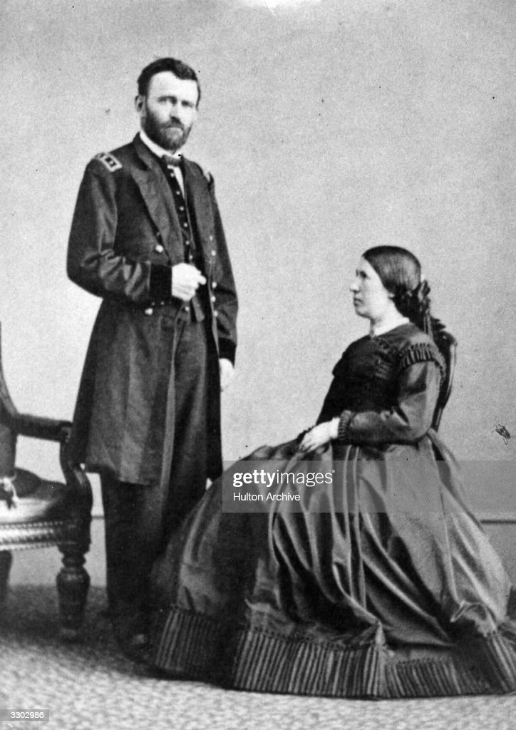 Ulysses & Julia Grant : News Photo
