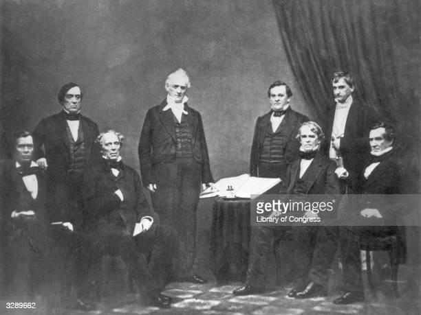 American president James Buchanan's cabinet