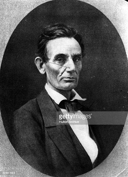 American statesman Abraham Lincoln 16th president of the United States of America from 1861 to 1865