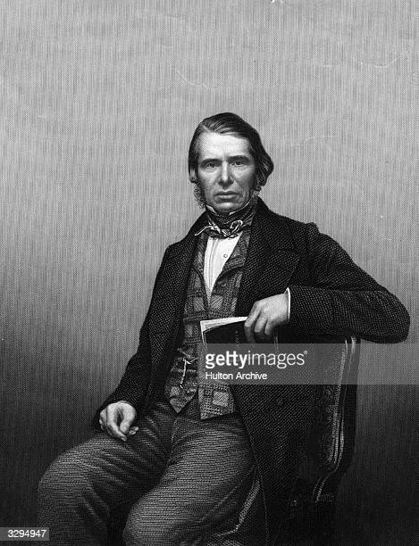 English administrator Sir Charles Edward Trevelyan 1st Baronet as governor of Madras Original Artwork Engraving by D J Pound after a photograph by...