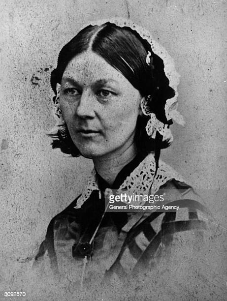 English nurse Florence Nightingale whose hospital reforms during the Crimean War resulted in her becoming the first woman to receive the Order of...