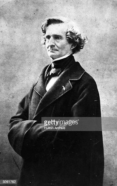 French composer Hector Berlioz, .