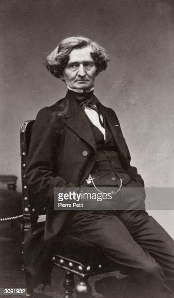 French composer Louis Hector Berlioz a leader of the musical Romanticism movement in the 19th century renowned for his revolutionary Symphonie...
