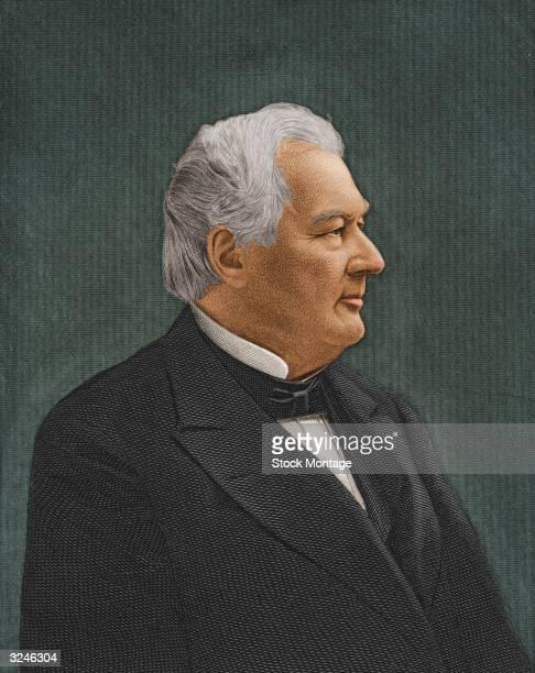 Millard Fillmore thirteenth president of the United States of America