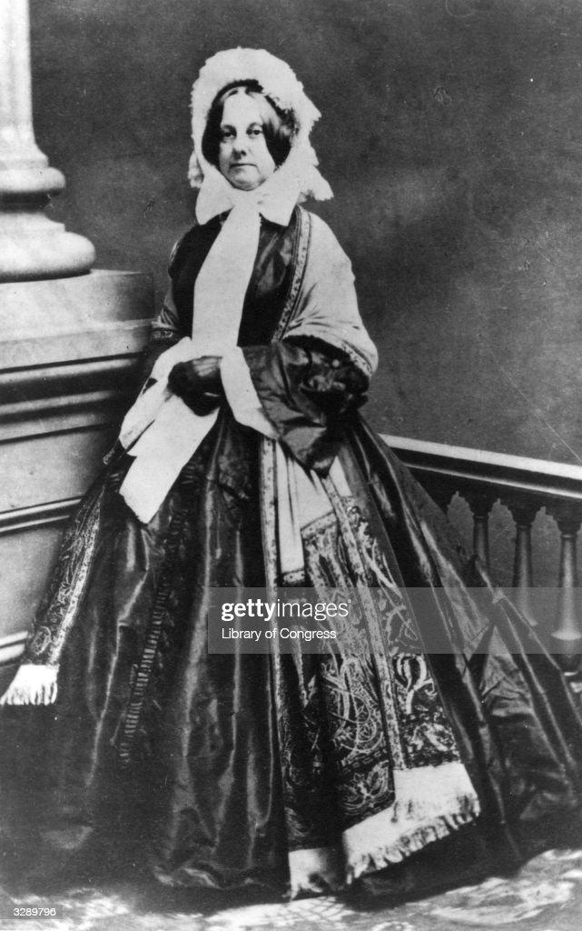 Mrs Millard Fillmore : News Photo