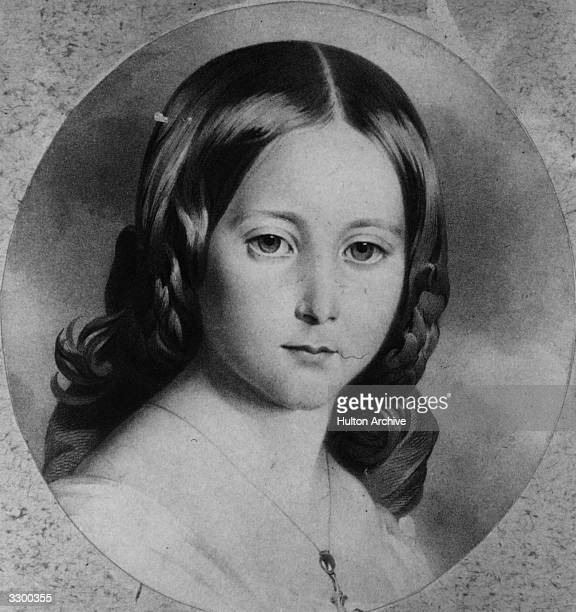Princess Alice 3rd daughter of Queen Victoria of England who married Prince Louis of HesseDarmstadt