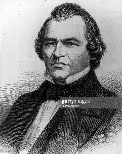 Andrew Johnson , the 17th President of the United States . Vice-president to Abraham Lincoln, he became President upon his assassination. He became...